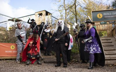 Challenge Academy's Scarefest Raises £1,000 for Dudley Hospital